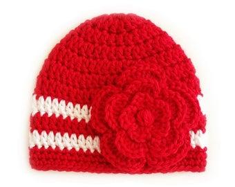 Newborn Girl Hat, Crochet Newborn Hat, Newborn Baby Hats, Newborn Photo Props, Newborn Baby Girl, Baby Girl Hats