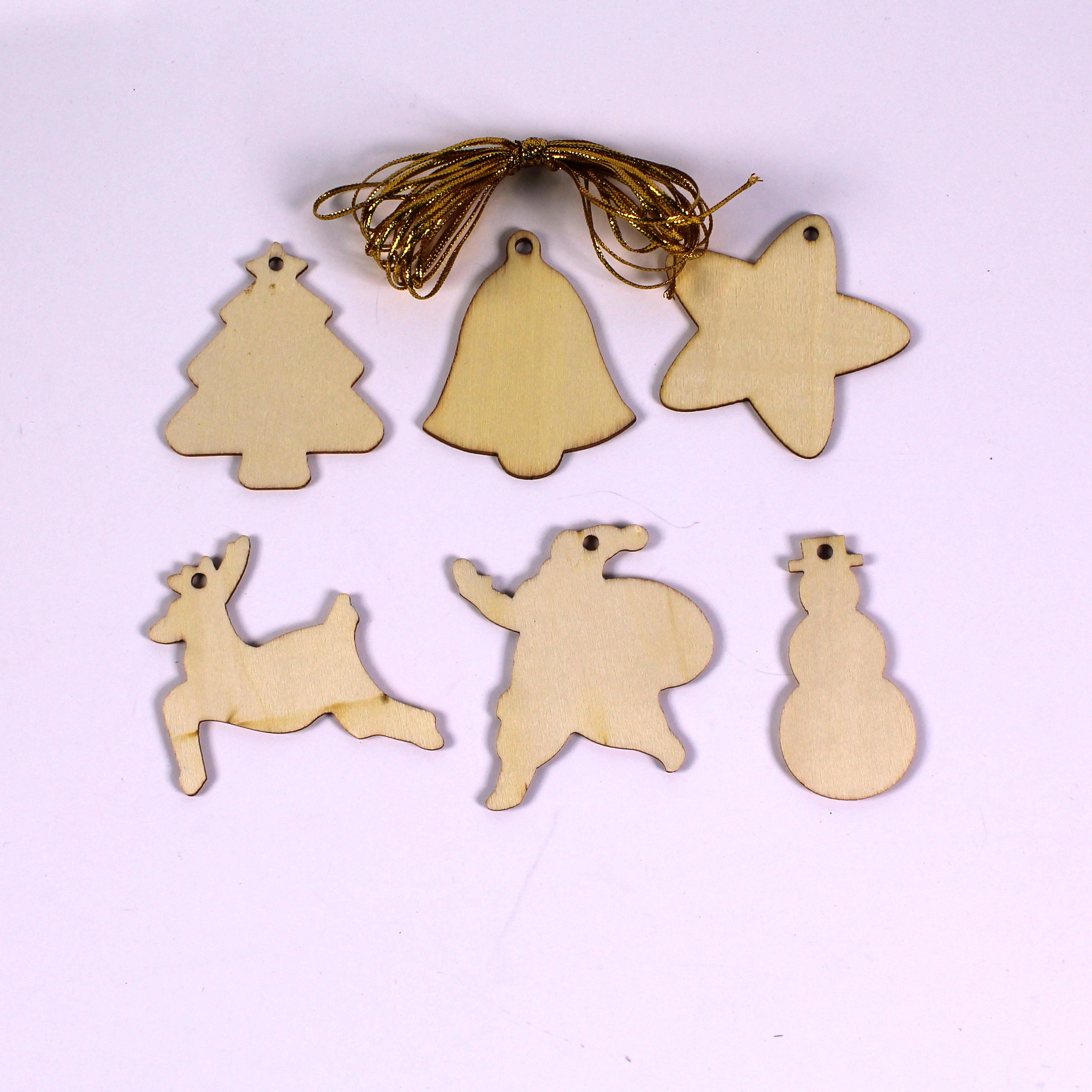 Christmas wooden shapes make your own hanging decorations with zoom solutioingenieria Gallery