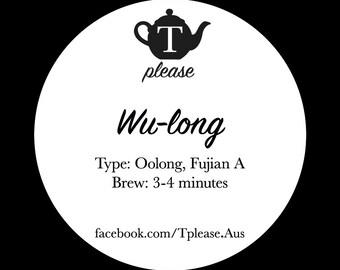 Wu-long loose leaf tea