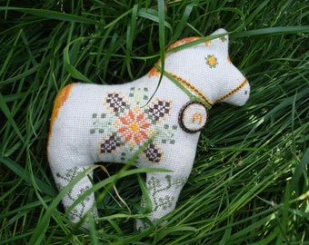 Embroidered Horse Canvas toy