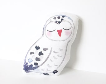 Owl Pillow, Nursery Pillow, Woodland Decor, Kids Gift, Baby Shower, New Baby, Nursery Decor
