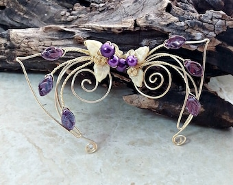 Sugarplum Elf Ear Cuff Wraps Pair or Single