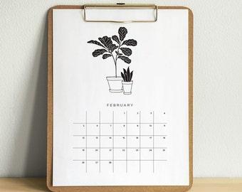 Printable 2017 Plant Calendar