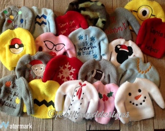 Doll sweaters and skirts - elf or 12 inch doll