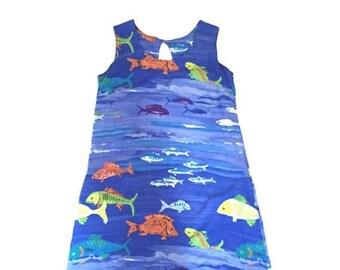 90s Beach Rayon Dress