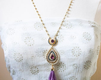Ardha-Chandra /// Necklace by Jhumki Designs