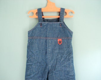 Vintage overalls - 24 months - Buster Brown