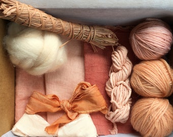 Naturally Dyed Maker's Pack- Madder
