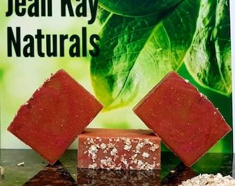 Vanilla Oatmeal Cold Process soap