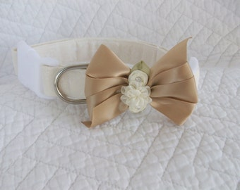 Wedding  Dog Collar Custom Made
