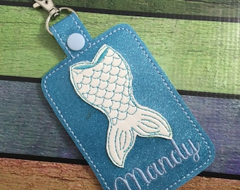 Personalized Tag - mermaid diaper bag Tag - custom luggage Tag - best gifts for her - travel gifts - gifts under 20 - baby shower gifts
