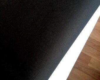 AIDA 18 Count Fabric. Black Cross stitch fabric. Permin embroidery cotton. Made in Denmark.