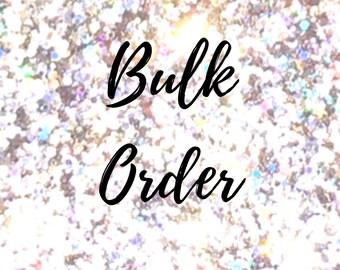 Bulk order