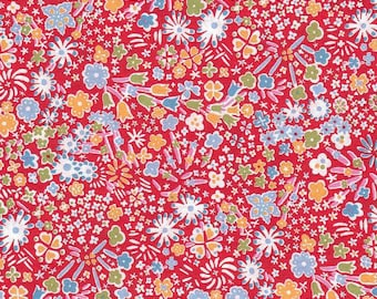 Red Liberty Kayoko * limited EDITION *-50x136cm