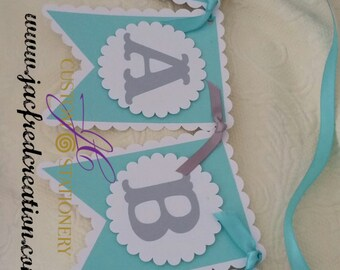 Baby and Co. Baby shower Banner