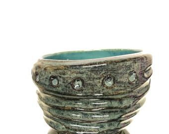 Small Sculptural Ceramic Bowl - 2018