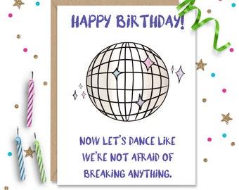Funny Birthday Card, Birthday Card, Friend Birthday Card, Funny Greeting Card, Husband Birthday Gift, Wife Birthday Gift, Boyfriend Birthday