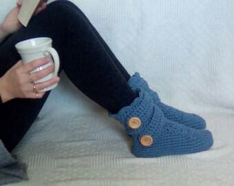 Ladies Boot Slippers, women's slippers