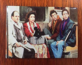 Seinfeld, Refrigerator Magnet, Fridge Magnet, Office Magnet