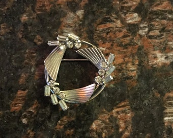 Sterling Brooch Made By Carl- Art Inc.