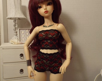 "Hearts Desire Lingerie Set-- 16"" Fashion Dolls"