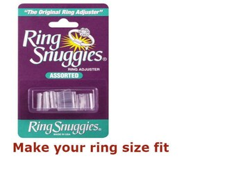 Ring Snuggies/ Ring Sizer / Sizes Adjuster - a pack of 6
