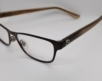 New Old Stock Gucci Bronze Eyeglasses Frames
