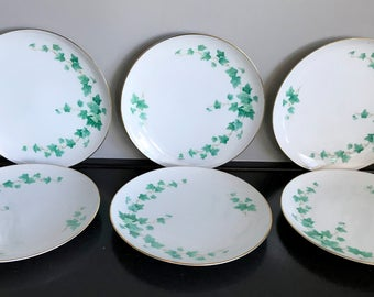 Sango Caprice Salad Plate - 6 Available!!