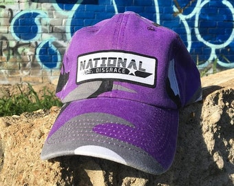 Purple Camo Dad Hat