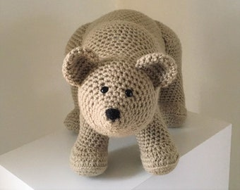 Grizzly Bear Crochet Pattern