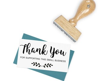 Thank you for supporting this Small Business Stamp for packaging