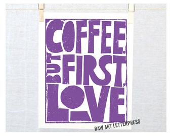 Wall Art, But First Coffee, Coffee Quote, Coffee Sign, Kitchen Art, Funny Coffee quote, Funny Sign, #butfirstcoffee, Coffee Cups, etsy art