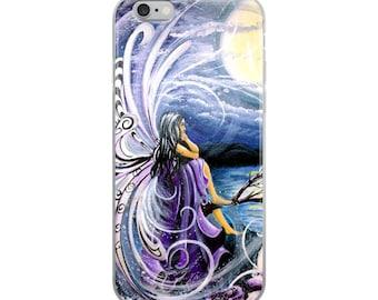iPhone Case cellphone purple fairy