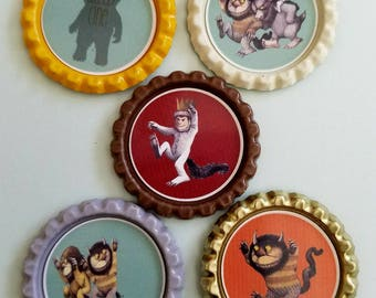 Where the wild things are magnets