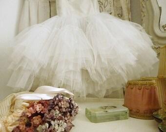 Lovely antique ballet dress, tutu, ballet costume, theatre costume, Prima Ballerina dress....CHARMANT!