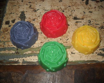 Rose Soap! Made With 100% Goats Milk Soap And Essential Oil!!!