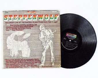 Steppenwolf: Early Steppenwolf Vinyl Record Album (1969, ABC/Dunhill Records) Vintage Rock LP