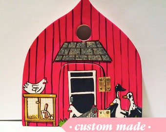 Fairy Door Farm, Waldorf-inspired Magickal all-natural wooden toy