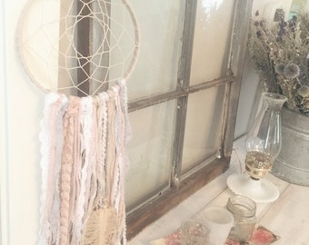 Blush & Grey Dream Catcher