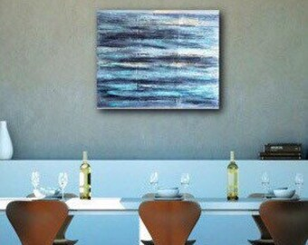Textured abstract painting / art on 22 x 28 canvas / abstract art / textured art / contemporary abstract painting / wall art / original