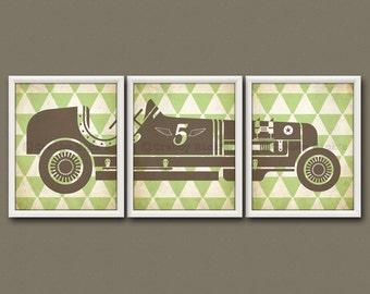 VINTAGE RACE CAR - Race Car, Race Car Print, Race Car Art, Race Car Birthday, Baby Shower, Baby Boy, Toddler Boy, Car Print, Retro