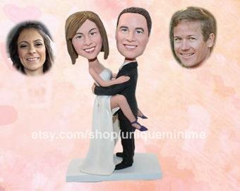 Custom bobblehead doll, Funny gift,bobblehead   doll, custom, Funny Wedding Gift, Gift For Groom,   Gift For Bride, Wedding, crazy gift