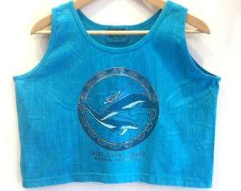 Guava Beach Cropped Tank