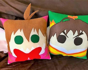 Sakura, Cardcaptor Sakura inspired pillow
