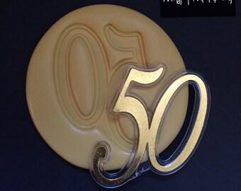 50 Anniversary Silicone Mold