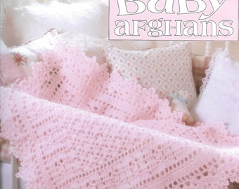 Absolutely Gorgeous Baby Afghans, Book 4, Leisure Arts 3015
