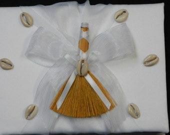 White Bridal Guest Book