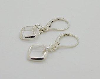 Sterling Silver Lever Back Earrings 01s