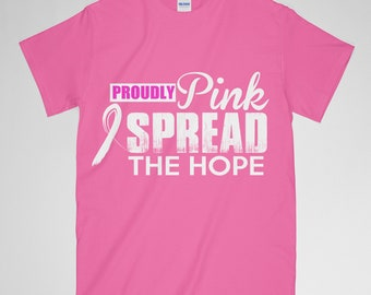 Breast Cancer Awareness, Breast Cancer Gifts, Breast Cancer, Breast Cancer Shirt, Breast Cancer Ribbon, Breast Cancer Svg, Spread The Hope