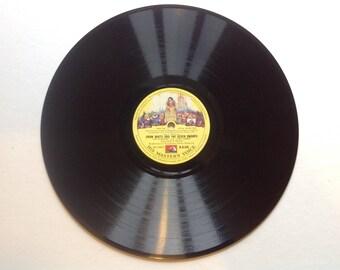 Snow White and the seven dwarfs 78s album